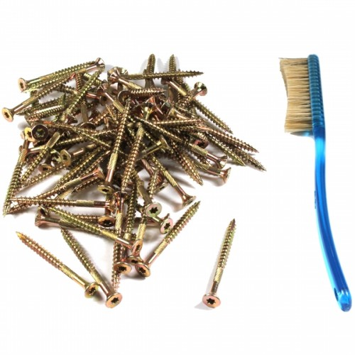 Gold Star Screws - 2""
