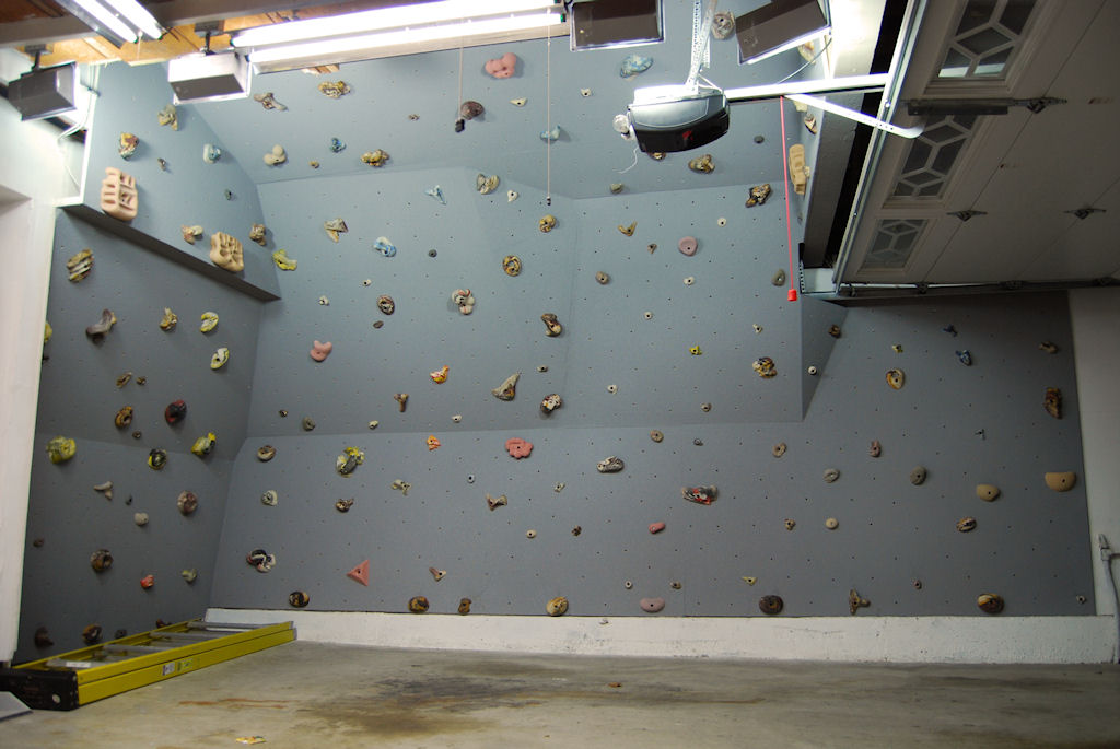 Home climbing walls basement climbing wall home gym